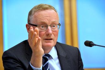RBA Governor Philip Lowe.
