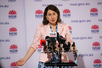 Premier Gladys Berejiklian provides an update on COVID-19.