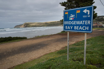 Bridgewater Bay, lauded for its natural beauty, is popular with summer holidaymakers.
