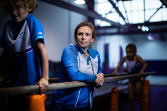 Lucy Fyfield, the owner and director of the Melbourne Gymnastics Centre.