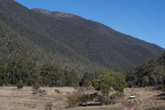 The Wonnangatta Valley earlier this month.