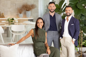 Love them and/or hate them: High-end property dealers D'Leanne Lewis, Simon Cohen and Gavin Rubinstein star in Luxe Listings Sydney.