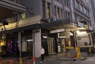 The former Yooralla building on Flinders Street.