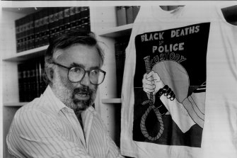 Ken Horler, Q.C. Vice-President of the NSW Council for Civil Liberties. February 04, 1987.