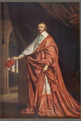 Cardinal Richelieu founded the academy to promote and protect the French language.