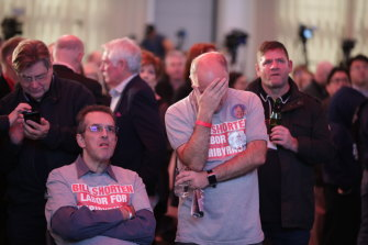 The shock and devastation for Labor on election night ... now it's seeking a different path to victory.