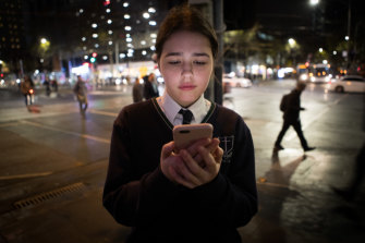 Ursula, 16,  was on a school excursion at Melbourne Museum when she was AirDropped an explicit image.
