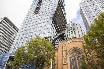 The landmark $1 billion 60 Martin Place redevelopment.
