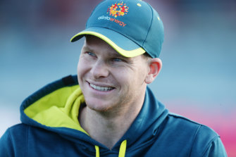 Steve Smith says he enjoys the pressure that comes with captaincy.