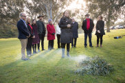 The commissioners for the state government's Yoo-rook Truth Telling Commission will be announced at a ceremony at the Yarra Bend boat ramp. Photo by Jason South. 14th May 2021