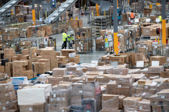 Australia Post's Sunshine West Parcel Delivery Centre operates around the clock