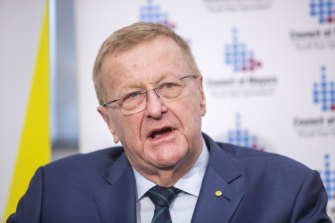 John Coates says no ABC calls of the Tokyo Olympics will leave a huge void in the coverage.