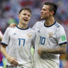 Russia will need more firepower in last eight