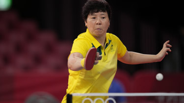 Jian Fang Lay has equalled her best ever Olympic Games appearance winning through to the third round.