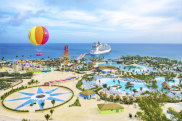 Supplied PR image for Traveller. CocoCay, Royal Caribbean cruise line's private island attraction in the Bahamas