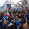 Thousands celebrate Italy's Euro 2020 win with flares, chants and good Melbourne coffee