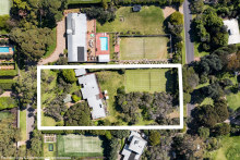 It was a large property in a popular part of Portsea with two street frontages.