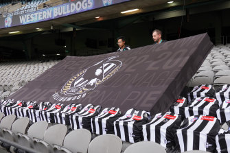 Collingwood will be relying on members to stay with the the club during this year's crisis.