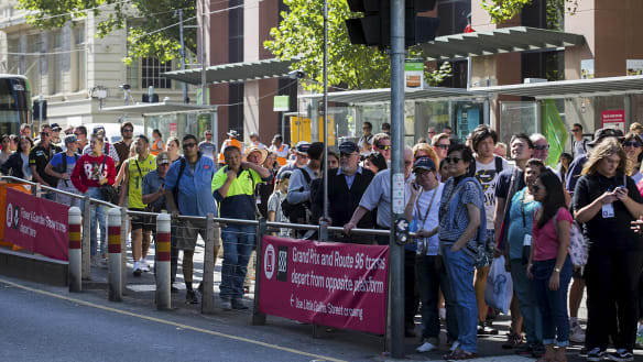 Footy fans facing transport delays as sport and rail works clash