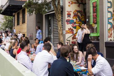 Sydney's alfresco revolution has drawn hospitality outside.