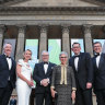 Movers and shakers get sneak peek at revamped State Library in gala launch