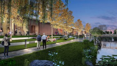 An artist's impression of Ardor Gardens. Lendlease is in competition with established domestic players including blue-chip insurers, private-equity firms and property developers.