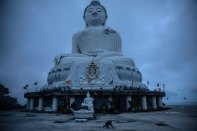 The Big Buddha Statue in Phuket hasn't seen nearly as many visitors as usual over the past year.