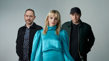 CHVRCHES: by turns joyful and contemplative.