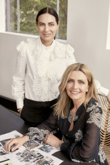 Nicky (left) and Simone Zimmermann are said to have sold a 70 per cent share of their cult fashion brand.