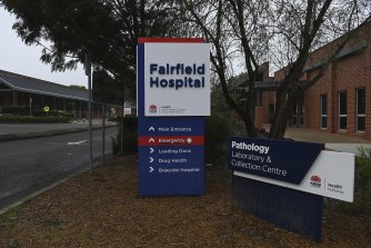 A student nurse worked at Fairfield Hospital before testing positive to COVID-19 this week.