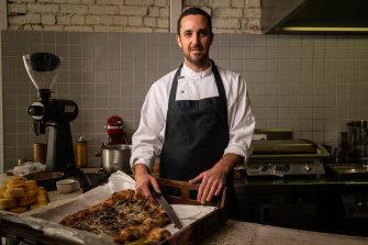 Ben Pollard, chef at Melbourne's Marion.