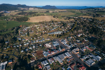 The town of Dorrigo is fighting over the proposed artwork.