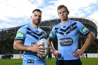 Can Tom Trbojevic seriously threaten James Tedesco's vice-like grip on the representative No. 1 jerseys?