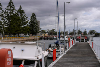 Port Albert will be one of the closest points on land to the Star of the South wind farm.