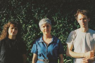 Melbourne punk trio Cable Ties.