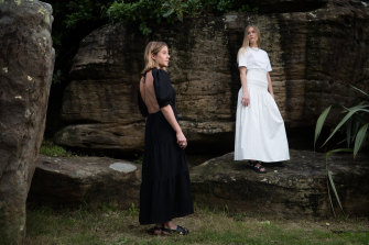 Fight for survival: Designers Nikki Campbell (left) and Sophie Coote, of SIR the Label.