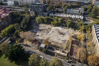 The former quarry and waste yard on Wattle Street, Pyrmont, has finally won approval for development by Landream.