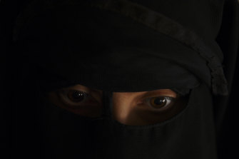 The Australian women in the camp refused to unveil their faces for fear of retribution.