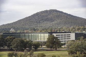 ASIO's headquarters in Canberra.