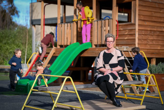 Tamika Hicks, who manages an early learning centre in Pakenham, says staff are on edge about COVID-19.