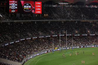 The Dreamtime sellout at Optus Stadium in Perth drew widespread applause interstate.