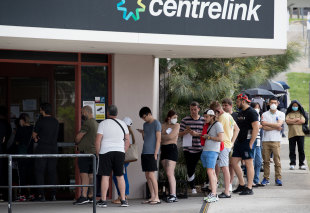 Job ads growth is flatlining as Victoria's lock down continues. The economic recovery is expected to cost billions.