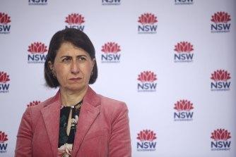 Resisting a lockdown: NSW Premier Gladys Berejiklian