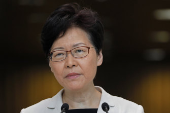 Hong Kong chief executive Carrie Lam suggested that Beijing had not yet reached a turning point.