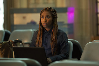 Cynthia Erivo as paranormal investigator Holly in The Outsider.