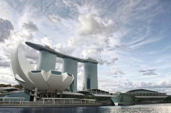 Aussies could soon return to Singapore's iconic Marina Bay Sands hotel under an ambitious travel bubble plan being discussed.