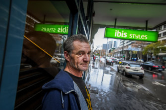 Melbourne man Paul Barr says the uncertainty of the hotel accommodation scheme is wearing on him.