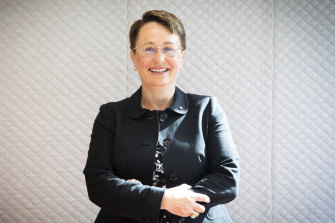Lucy Brogden AM, the chair of the National Mental Health Commission.