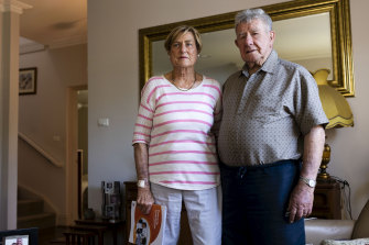Balgowlah residents Janet and Harry Cave.