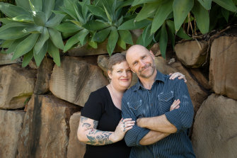 """Kylie Scott and Hugh Breakey: """"The night of our first date, I went back to his house – and never left."""""""